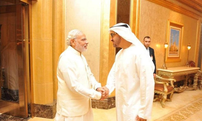 Sheikh Mohammed bin Zayed Al-Nahyan, Crown Prince , Abu Dhabi , UAE armed force, Narendra Modi, India, OIC,