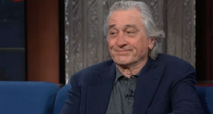 Robert De Niro , Godfather, Donald Trump, USA President, gangster moviees, Hollywood, Late Show With Stephen Colbert