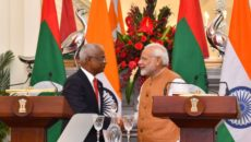 Prime Minister ,Narendra Modi, Ibrahim Mohamed Solih, Maldives, MDP,Maldivian Democratic Party , Policy, Business, Neighbourhood First, Mohamed Nasheed